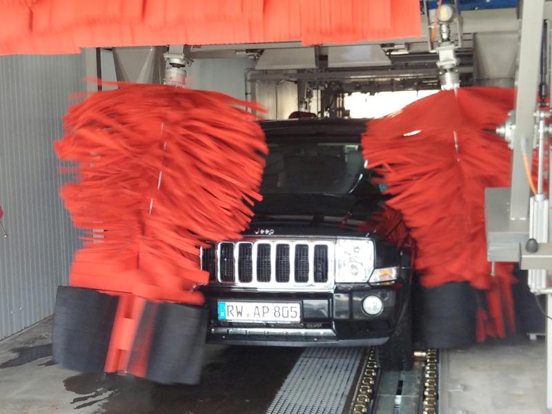 Poliertrocknung - Waschanlage Rottweil